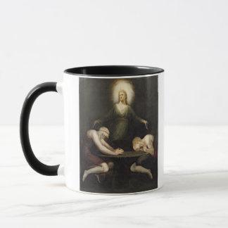 Mug L'aspect du Christ chez Emmaus, 1792 (huile sur c