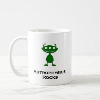 Mug L'astrophysique triple d'oeil bascule le vert