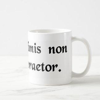 Mug L'autorité ne s'inquiète pas des choses