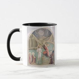 Mug Le baptême du Christ, c.1438-45 (fresque)