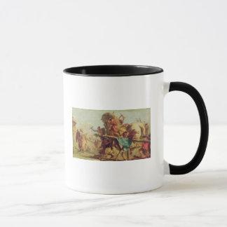 Mug Le bâtiment du Trojan Horse, c.1760