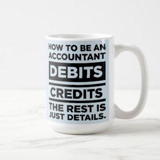Mug Le bleu layette comment être un comptable débite