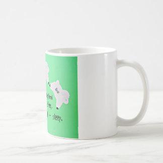 Mug Le bon berger compte des moutons…
