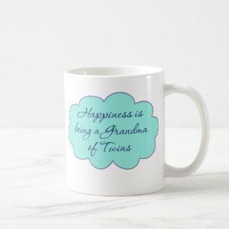 Mug Le bonheur est une grand-maman des jumeaux