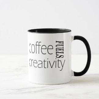 Mug Le café alimente la créativité