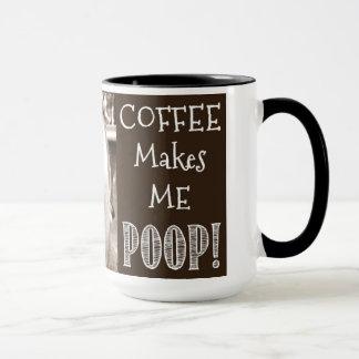 Mug Le café me fait la dunette !