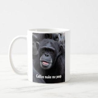 Mug Le café me font la dunette