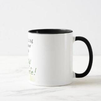 Mug Le Cancer survivant est un mode de vie : PLUS FORT