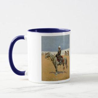 Mug Le cavalier de Remington de la ligne, Mexique