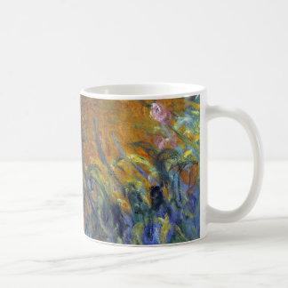 Mug Le chemin à travers les iris par Claude Monet