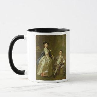 Mug Le chéri. Rachel Hamilton et son frère