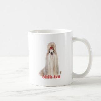 Mug le chien de shih-tzu multiplie le シーズー - シーズー犬の品種