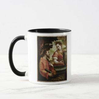 Mug Le Christ et la femme de Samaria, c.1575-80