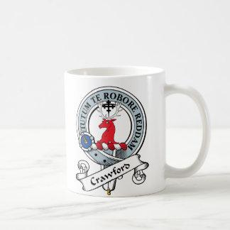 Mug Le clan de Crawford Badge
