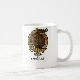 Mug Le clan de Crawford Crest