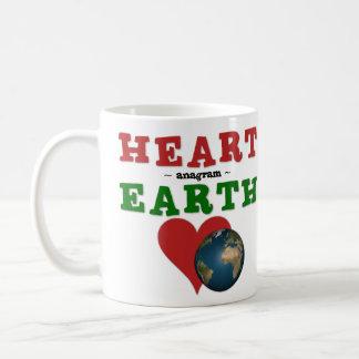 Mug Le coeur est anagramme pour la terre