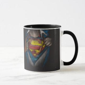 Mug Le coffre de Superman | indiquent le croquis