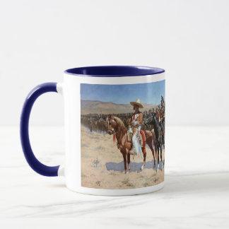 Mug Le commandant mexicain de Frederic Remington
