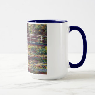 Mug Le cool japonais de Claude Monet de pont, vieux,