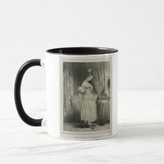 Mug Le corset, gravé par Alfred Léon Lemercier (la