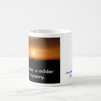 Mug Le coucher du soleil, la mort est meilleur, un