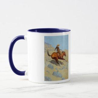 Mug Le cowboy de Frederic Remington (1902)