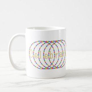 Mug Le double célèbrent la conception de lumières