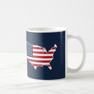 Mug Le drapeau américain patriotique Etats-Unis