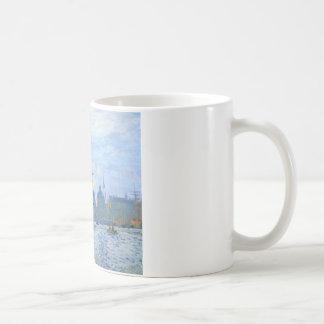 Mug Le Havre, le bassin commercial par Claude Monet