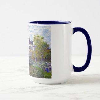 Mug Le jardin de Monet à Argenteuil Claude Monet