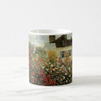 Mug Le jardin de Monet à Argenteuil par Claude Monet