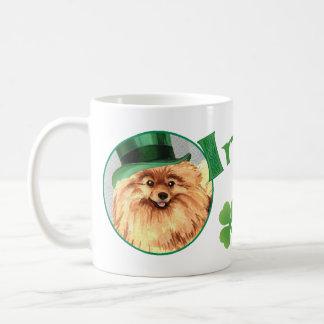 Mug Le jour Pomeranian de St Patrick