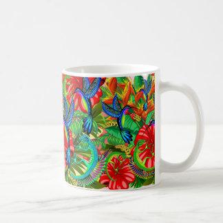 Mug Le lézard et le colibri