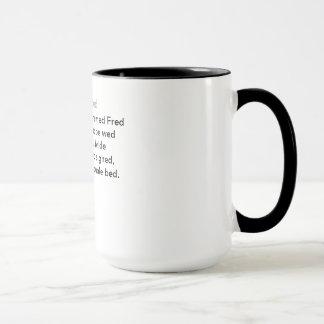 Mug Le lit de Fred
