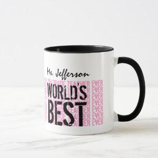 Mug Le meilleur 12ème cadeau V13 de professeur de la