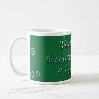 Mug Le meilleur administrateur des comptes à recevoir