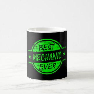 Mug Le meilleur vert de mécanicien jamais