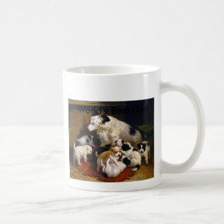 Mug Le meilleurs chien de berger et chiots du papa du