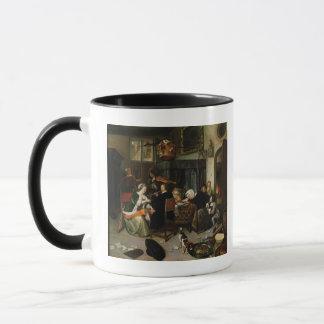 Mug Le ménage dissolu, 1668