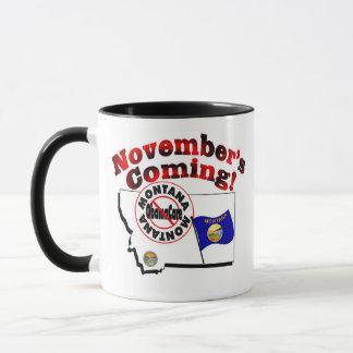Mug Le Montana anti venir d'ObamaCare - de novembre !