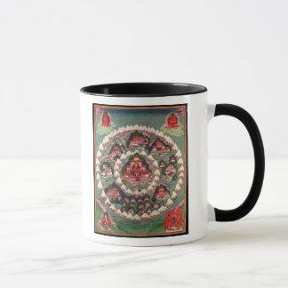 Mug Le paradis de Shambhala, bannière tibétaine