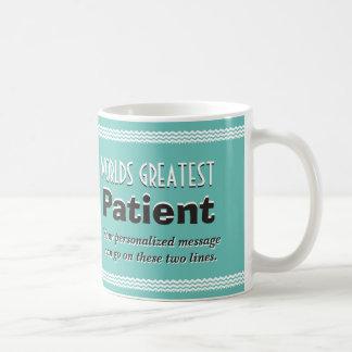 Mug Le plus grand patient du monde