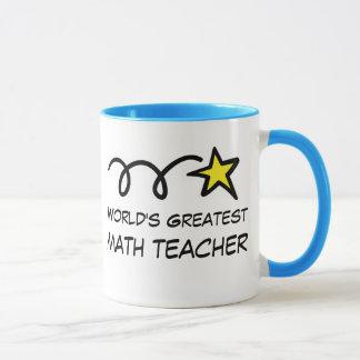 Mug Le plus grand professeur de maths du monde -