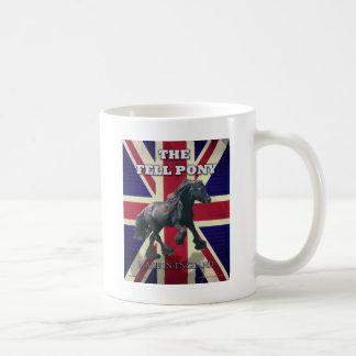"""Mug """"Le poney d'automne -- Britannique vrai --"""