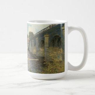 Mug Le pont en route à Argenteuil par Claude Monet