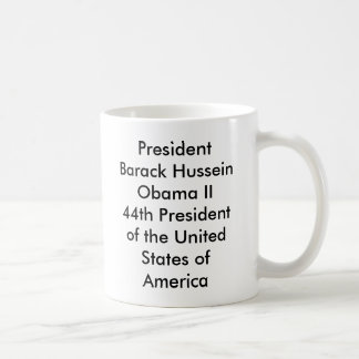 Mug Le Président Barack Hussein Obama II