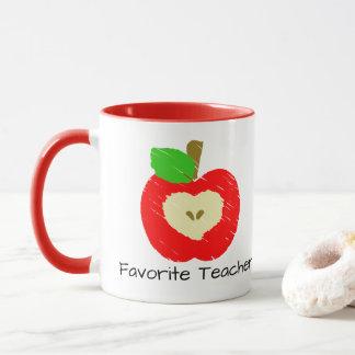 Mug Le professeur préféré Apple attaquent