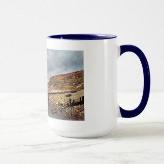 Mug Le promontoire du Heve Claude Monet à marée basse