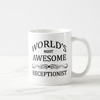 Mug Le réceptionniste le plus impressionnant du monde
