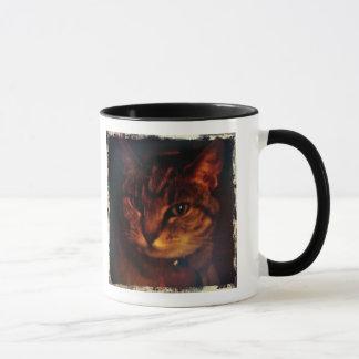 Mug Le regard dramatique de l'indigo